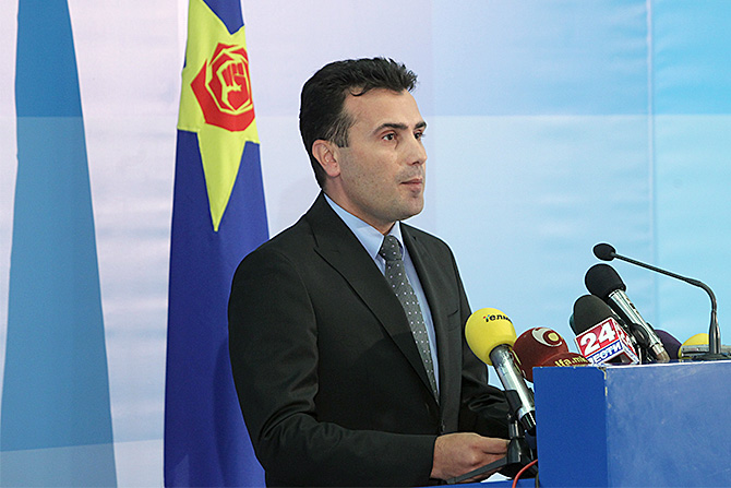 Заев мандатар за састав нове македонске владе