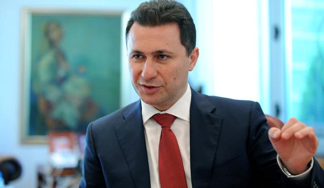 Груевски најавио документ за излазак из политичке кризе