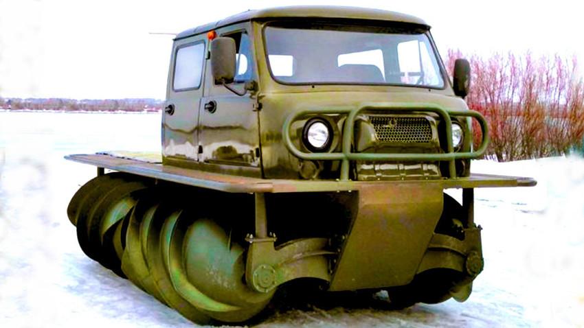 Руси направили возило са погоном који има облик спиралне бургије