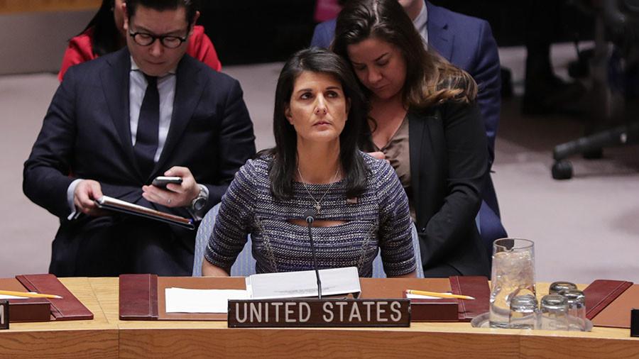 """РТ: Хејлијева и """"Биномо"""" острво? САД ће наставити да """"подсећају"""" Русију на њено место у свету"""