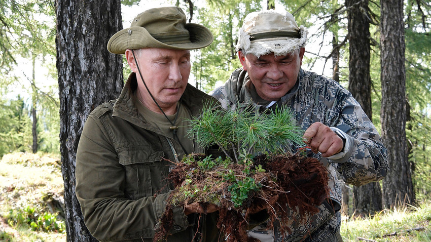 Odmor u planini: Kako je Putin proveo vikend u Sibiru