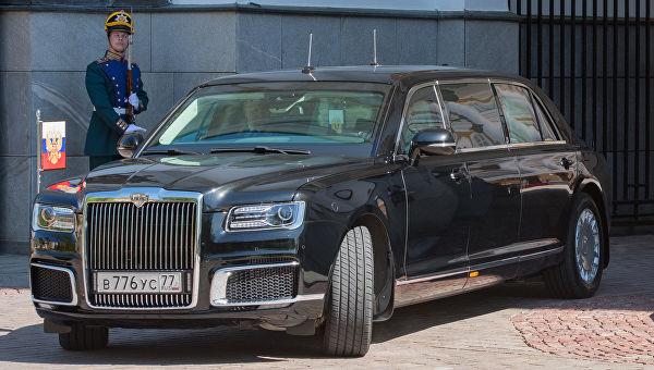 Како се прави аутомобил председника Русије