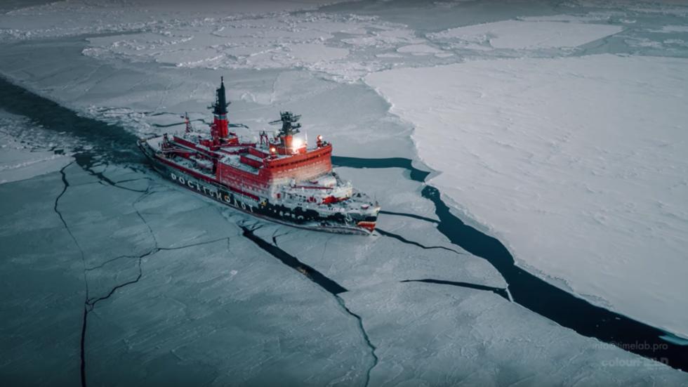 РТ: Руски нуклеарни ледоломци освајају Арктик