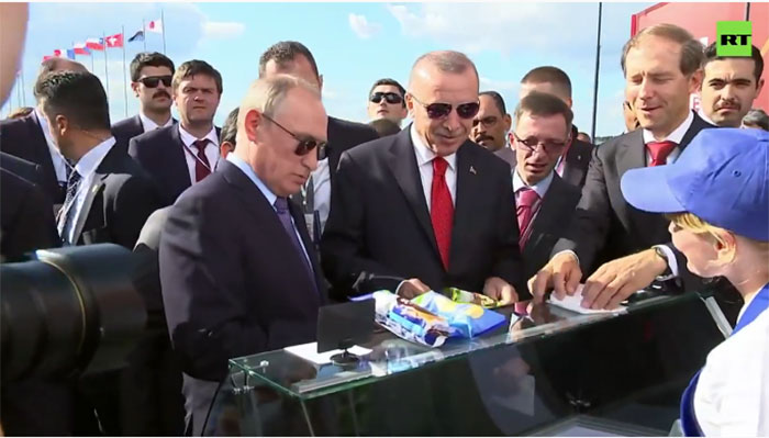 """""""Dajte ministru kusur, njemu treba za razvoj avijacije"""" - kako je Putin častio Erdogana sladoledom"""