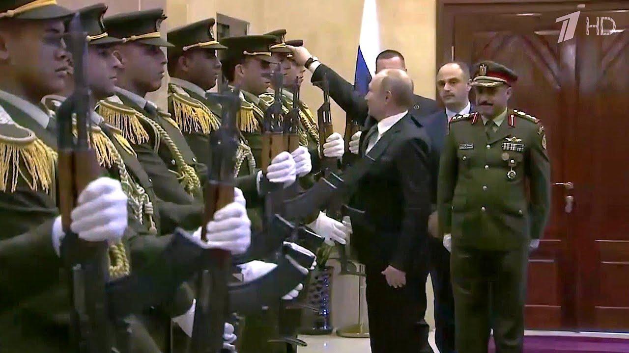 Путин подиже с пода капу припадника палестинске гарде