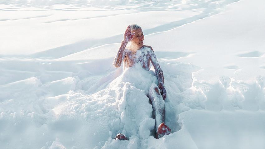 "Kako se jakutski ""ljudi-morževi"" greju na mrazu"