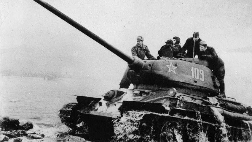 Да ли је зими било хладно у тенку Т-34?