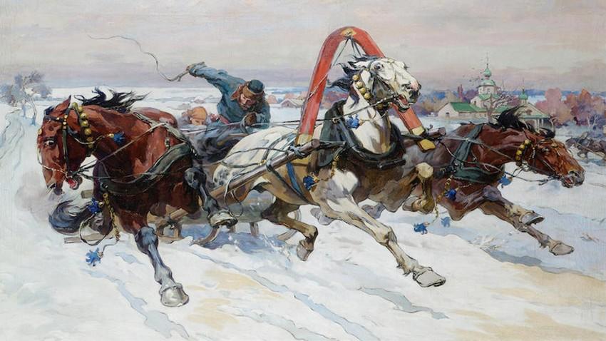 Кочијаши у Русији: Ко је возио Русе на далеке путе док још није постојала железница?