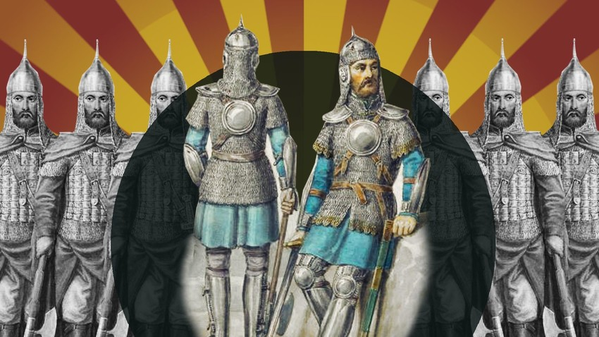 Како је била организована армија у Старој Русији?