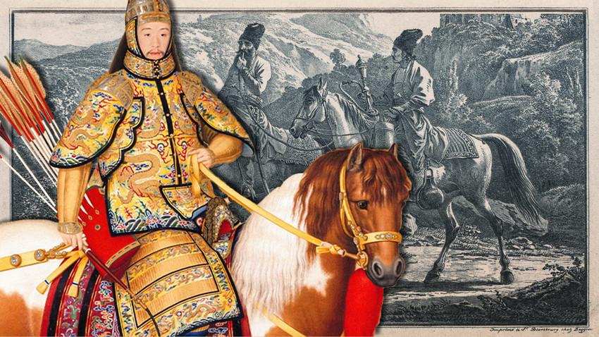 Како су руски Козаци постали лична гарда кинеског цара