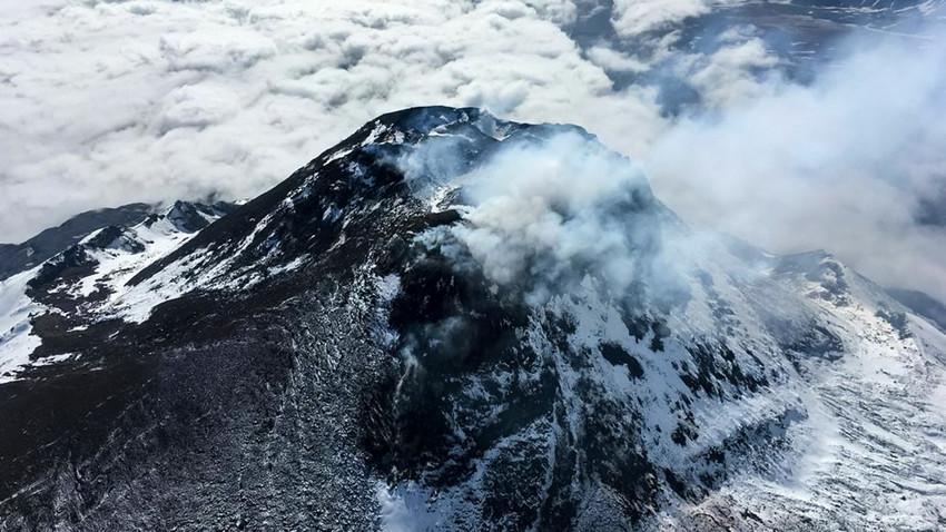 Ерупције вулкана на руском полуострву Камчатка: Призори нестварне лепоте
