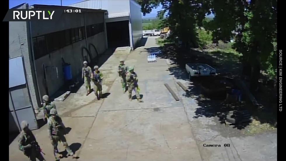 РТ: Набавите људима мапу: Амерички војници упали у бугарску фабрику биогорива