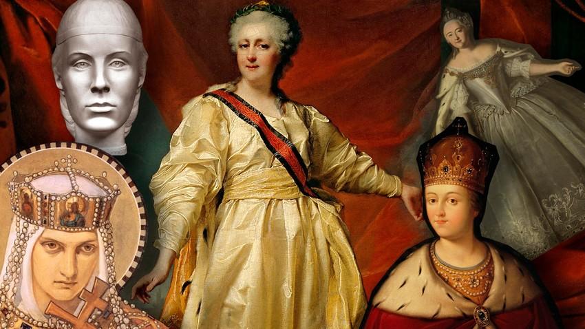 Pet najznačajnijih ruskih vladarki