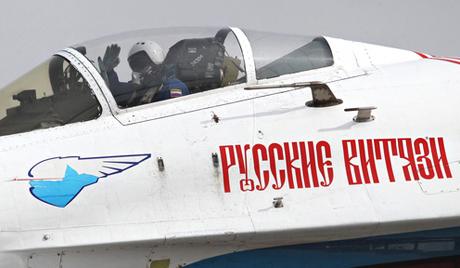 """""""Руски витезови"""" на Aero India 2013"""