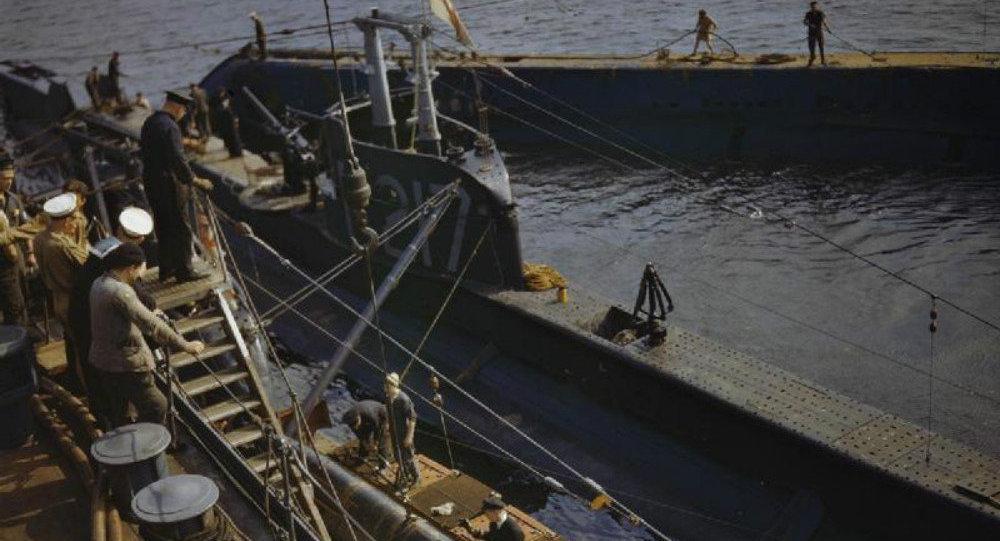 Откривена сабласна подморница из Другог светског рата