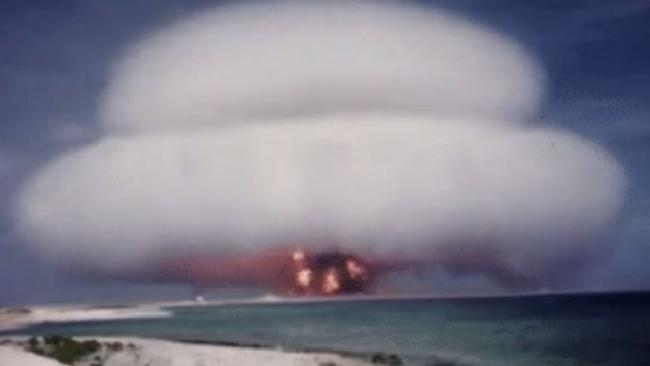 Необјављени снимак нуклеарне пробе САД